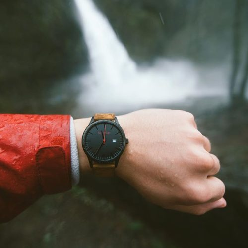 WATCH Black | Brown Leather